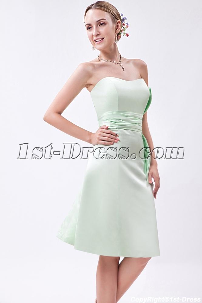2a0bf4ea9d2b9 Sage Green Junior Short Bridesmaid Dress IMG_1005