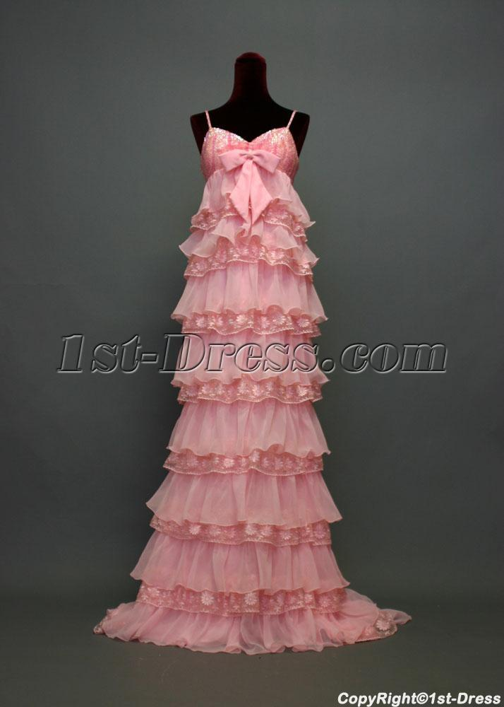 images/201303/big/Spaghetti-Long-Pink-Empire-Maternity-Evening-Gown-IMG_7244-534-b-1-1362160558.jpg