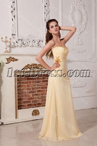 2013 Daffodil Long Beautiful Formal Evening Dress with Sweetheart IMG1794