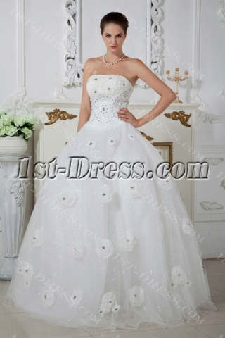 Beautiful Floral Bridal Wedding Ball Gowns IMG_1650