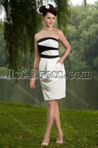 Black and White Formal Short Junior IMG_0684
