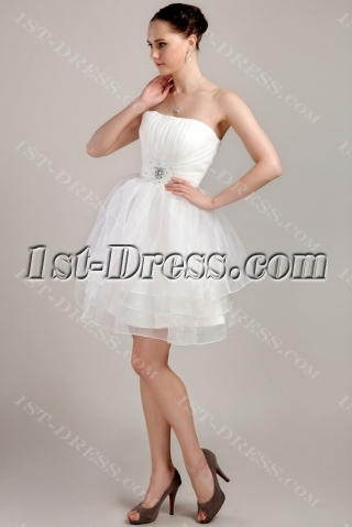 Cheap Cute Junior Bridesmaid Dress IMG_3354