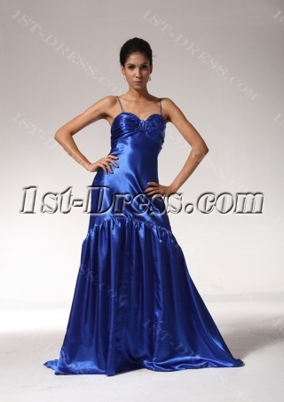 Discount Spaghetti Straps University Graduation Dresses edjc890509