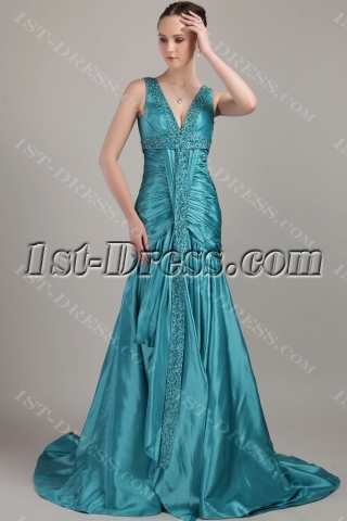 Hunter Long Modest Plus Size Prom Dresses IMG_3261