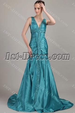 Hunter Long Modest Plus Size Prom Dresses IMG_3261