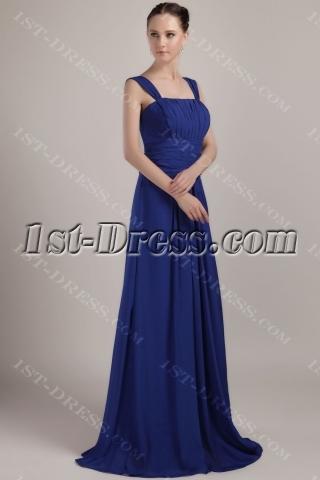 Royal Blue Formal Prom Dress Long 2013 IMG_3473