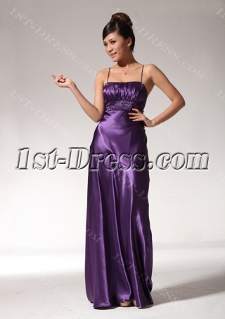 Simple Grape Graduation Dresses for Juniors edjc890909