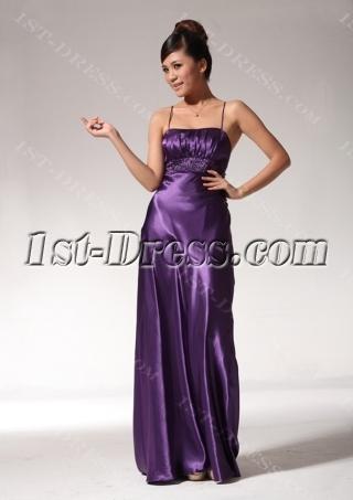 Simple Grape Graduation Dresses for Juniors edjc890909