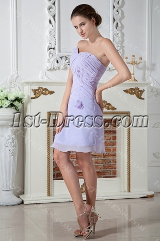Strapless Lavender Short Homecoming Dress IMG_1999