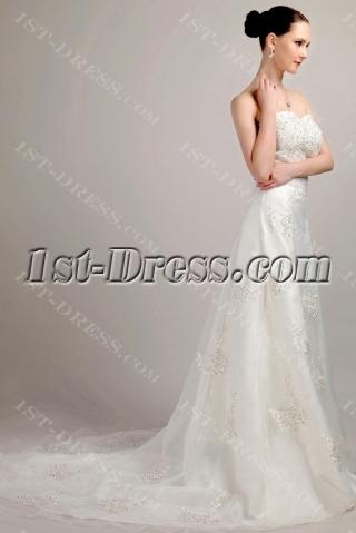 Stunning and Elegant Wedding Dresses with Sweetheart IMG_3141