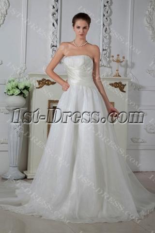 Sweetheart Simple Cheap Wedding Dresses Brisbane IMG_1605