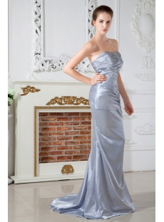 Amazing Popular Silver Formal Evening Dress IMG_1759