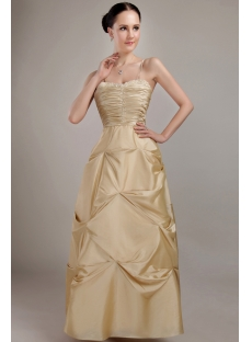 Champagne Long Plus Size Ball Gown Prom Dresses IMG_3008