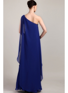 Charming Royal Blue One Shoulder Long 2013 Prom Gown IMG_3327