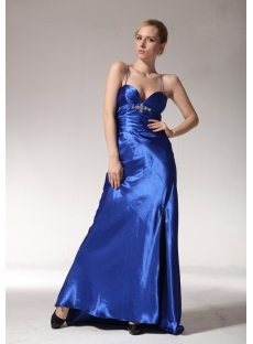 Cheap Royal Dresses for Graduation with Split Front edjc890609