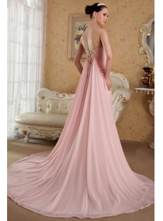 Dusty Pink Romantic Celebrity Inspired Prom Dresses 2013 IMG_3625