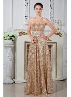 Elegant 2013 Long Gold Sequins Evening Dresses IMG_1701