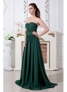 Hunter Green Classic Prom Dresses 2013 IMG_1758:1st-dress.com