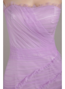 Lilac Romantic Mermaid Prom Dress 2013 with Train IMG_3244