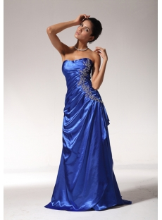 Long Royal Graduation Dresses for 8th Grade edjc890309