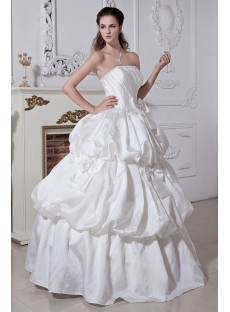 Long White Pretty 15 Quinceanera Dress IMG_1924