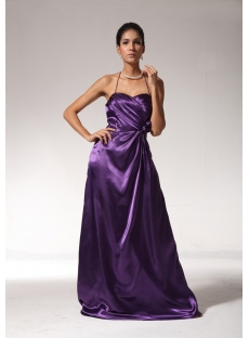 Purple Summer Long Simple 2013 Evening Dress bmjc891008