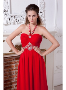 Red Chiffon Cheap Plus Size Evening Party Dresses IMG_2122