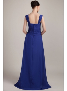 Royal Blue Formal Prom Dress Long 2013 IMG_3473