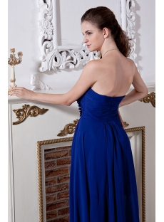 Royal Blue High-low Graduation Dress IMG_2011