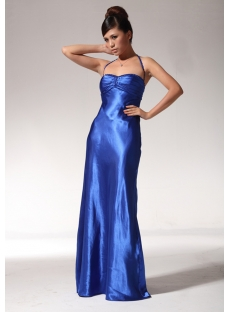 Royal Teenage Graduation Dresses with Halter edjc890809