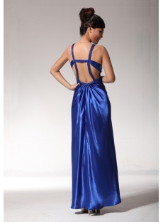 Sexy Royal Long Evening Party Dresses with Open Back edjc891509