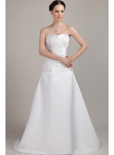 Simple Sweetheart Elegant Bridal Gown IMG_3201
