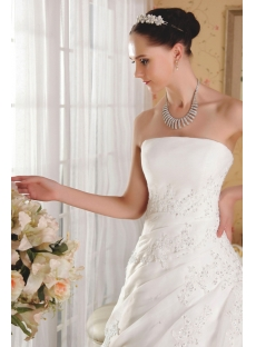 Strapless Bridal Gown 2013 Spring IMG_3525