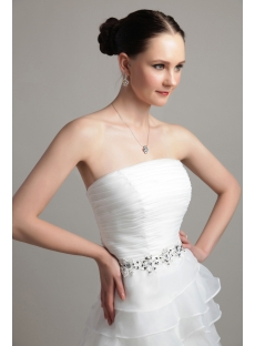 Strapless Unique Bridal Gowns 2013 IMG_3151