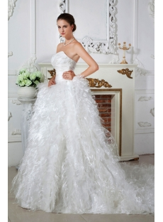 Sweetheart 2013 Luxury Wedding Dresses of 1st-dress IMG_1624