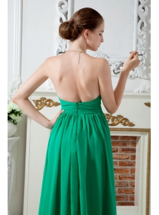 Sweetheart Empire Green Elegant Graduation Dresses IMG_1767