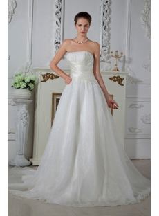 Sweetheart Simple Cheap Wedding Dresses Brisbane IMG_1605
