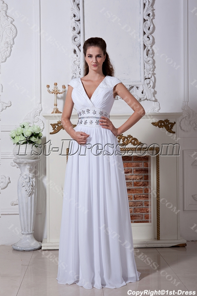 2013 ivory v neckline tropical wedding dresses img 1729 for Wedding dresses for tropical wedding