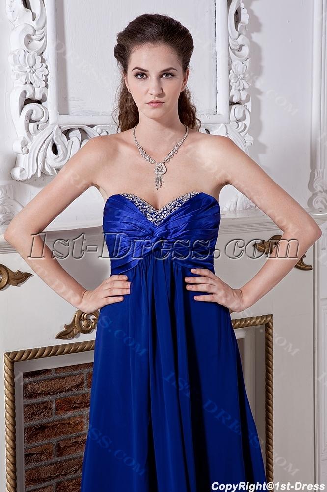 Cheap Long Royal Plus Size Modest Bridesmaid Dresses Img20211st