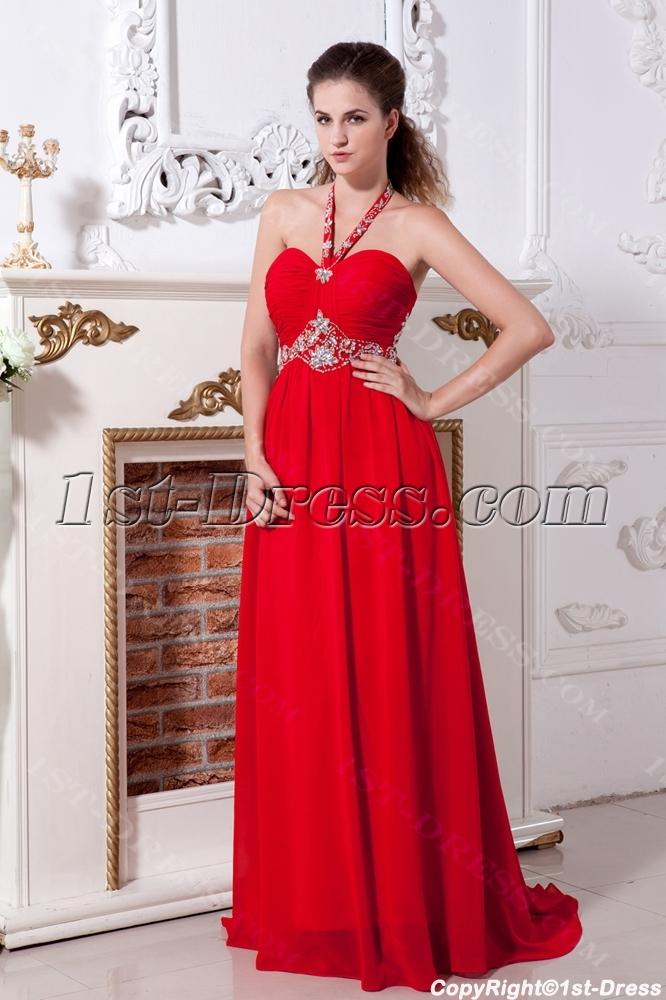 afeb8cb0df58 Red Chiffon Cheap Plus Size Evening Party Dresses IMG_2122:1st-dress.com
