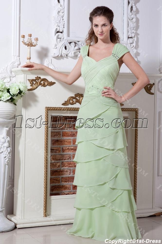 b45c2c4103 Sage Fashionable Long Mother Of Bride Dress IMG 2185 1st-dress.com