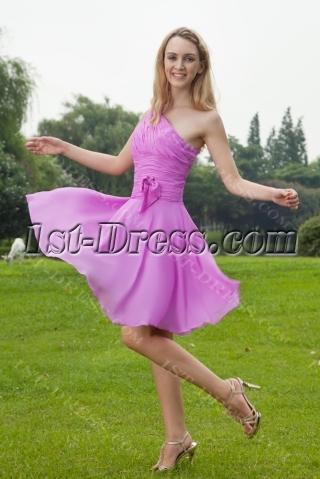 0rchid Beach One Shoulder Elegant Bridesmaid Dresses IMG_8128