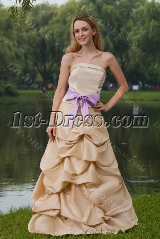 Champagne Military Ball Gown Dresses Cheap IMG_8003