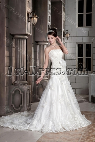 Exclusive Sheath Destination Wedding Dresses GG1089