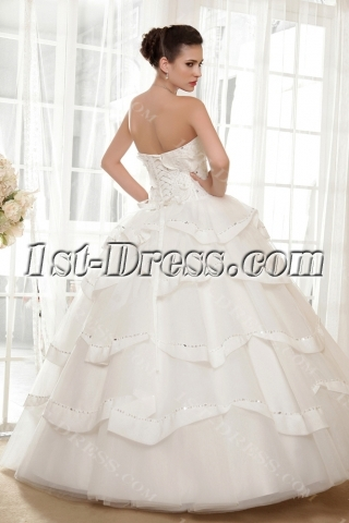 Gorgeous Cinderella Quinceanera Dresses Off White 2013 IMG_5681
