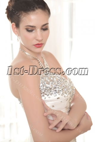 Jeweled Brilliant 2013 Quinceanera Gown Dress with Corset IMG_5647