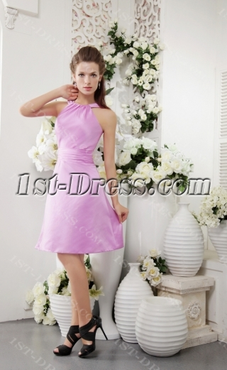 Lilac Cute Junior Graduation Dress IMG_0128