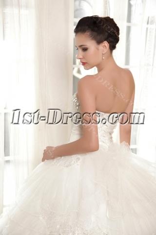 Luxury Ball Gown Wedding Dress 2013 Top 10 IMG_5758