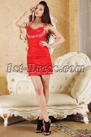 Mini Sweet 16 Birthday Dresses Red IMG_5332