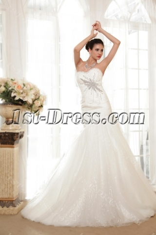 Mystique Trumpet Mermaid Wedding Dresses IMG_5563